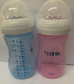 Philips Avent Natural baby bottles  9oz 2 Pack- New