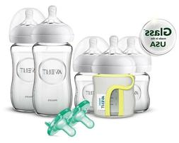 Philips Avent Natural Glass Baby Bottle Gift Set SCD201/01