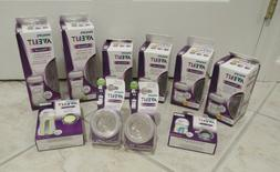 Philips Avent Natural Glass Baby Bottle Lot 4 oz and 8 oz wi