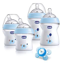 Chicco NaturalFit BPA Free Newborn Gift Set - Blue