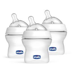 Chicco NaturalFit Tri-Pack Bottles, 0 Months Plus