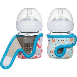 4oz  Miracle Bean Neoprene Baby Bottle Sleeves – Adjustabl