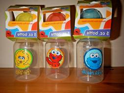 New SESAME STREET Baby Bottle Medium Flow Silicone Nipple 5