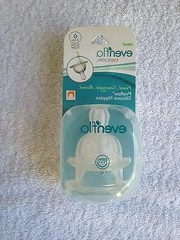 NEW Evenflo Bebok baby bottle nipples medium flow 3-6 months