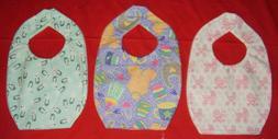 NEW cute BABY BIB Nursery items carriage bottle pins designs