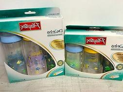 New Playtex Premium Decorated Nurser Drop In Bottles Discont