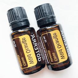 New DoTerra Wild Orange  15mL Pure Essential Oil - Sealed