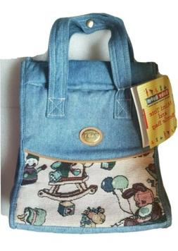 New with Tag. Baby Boom Mini Tote, Bottle Bag Denim Material