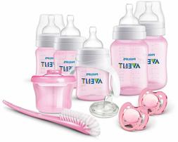 Newborn Anti-Colic Bottle Pacifier Cleaner Set Philips AVENT