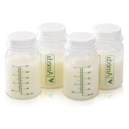 NIP Baby AMEDA Breast Milk Storage Bottles 4 OZ Feeding BPA