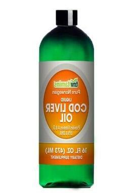 Pure Norwegian Cod Liver Oil Liquid