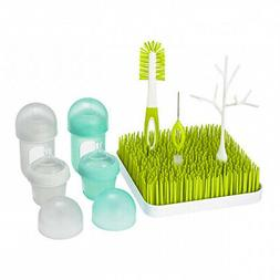 Boon Nursh & Grass Bundle Bottles & Accessories Starter Set,