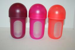 Boon Nursh Silicone Pouch Bottle Air Free Feeding - 8oz, 3 P