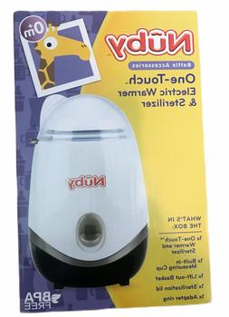 Nuby One-Touch 2-in-1 Electric Baby Bottle Warmer & Steriliz