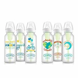 Dr. Brown's Options Baby Bottles, 8 ounce, Adventure/Love/Dr