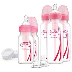 Dr. Brown's Options Feeding Bottles Gift Set in Pink