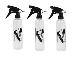 Pack of 3-10 Oz Empty Plastic Spray Bottles Mist Flower Spra