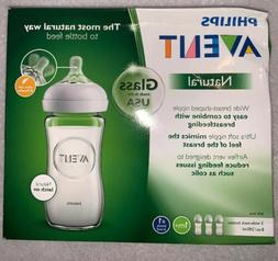 philips avent natural glass bottle 8oz scf703