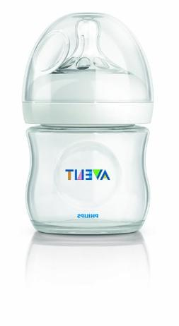 Philips AVENT 4 Ounce BPA Free Natural Polypropylene Bottle