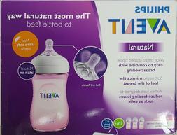 Philips AVENT 9 Ounce BPA Free Natural Polypropylene Bottles