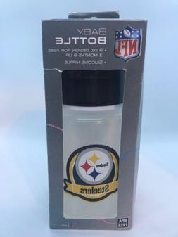 Pittsburgh Steelers Baby Bottle w/ Nipple NFL Fanatic BPA Fr