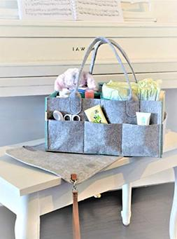 GoRu Baby Portable Diaper Caddy Organizer With Changing Pad