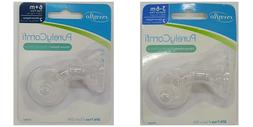 evenflo© PURELY COMFI™ Silicone Nipples BPA FREE 2 Pack B