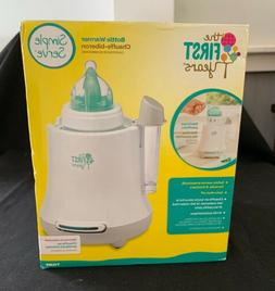 The First Years Quick Simple Serve Bottle Warmer NIB