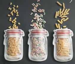 Reusable Bottle Ziplock bag- Amazing food storage, reusable,