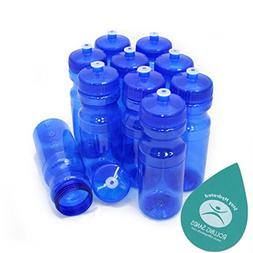 Rolling Sands BPA Free 24oz Drink Bottles Blue