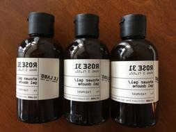 Le Labo Rose 31- *LARGE* 3 bottles of Travel Size Body Gel