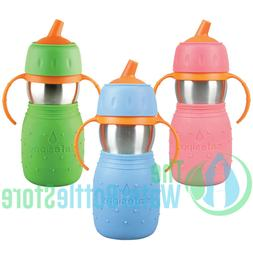 Kid Basix Safe Sippy™ 11oz Stainless Steel Bottle for Todd