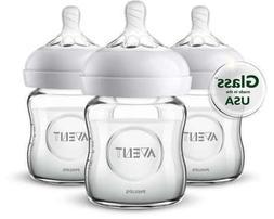 SCF701/37 Natural Glass 4-oz. Bottle 3-pk