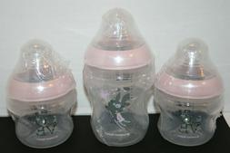 SEALED Tommee Tippee Closer To Nature Decorated Pink Baby Bo