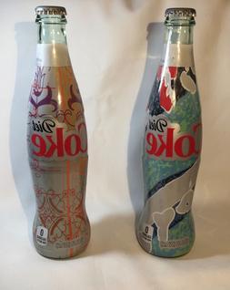 "Set of 2 Diet Coke ""It's Mine"" Special Edition 2016 Glass Bo"