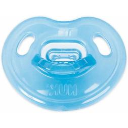 NUK Newborn 100% Silicone Pacifier, Size 0-3 Months, 4-Pack,