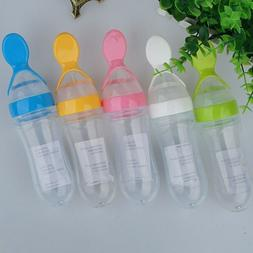 Silicone Squeeze Feeding Bottle Rice Paste Food Supplement B