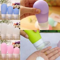 Silicone Travel Bottles Toiletry Containers - Variety of Siz