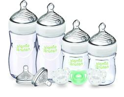 NUK Simply Natural Baby Bottle Newborn Gift Set by NUK