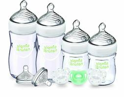Nuk simply natural newborn Gift Set baby bottles pacifier tr
