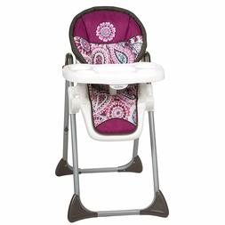 Baby Trend Sit-Right Adjustable High Chair, Paisley