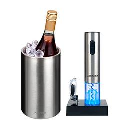 The Secura Premium Stainless Steel Electric Wine Bottle Open