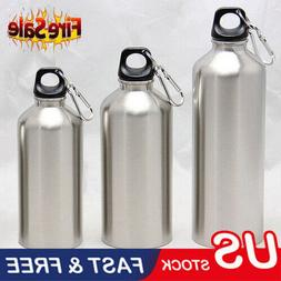 2019 Aluminum water bottle double vacuum insulated sports gy