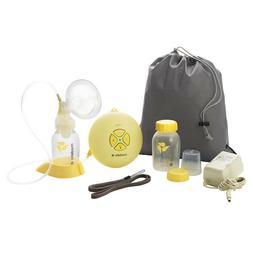 Medela SWING Single Electric Breast Pump Set With Bottles &