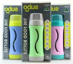 SUBO 'The Food Bottle' COLOURS NO MESS! Non-Squeeze :: As Se