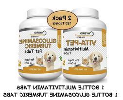 Total Pet Health: Dog Vitamins + Turmeric for Dogs  Non-GMO