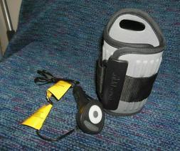 MUNCHKIN Travel Car Baby Bottle Warmer Gray Auto Shut Off Fi