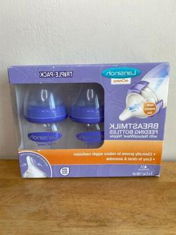Lansinoh Triple Pack Breastmilk Feeding Bottles NaturalWave