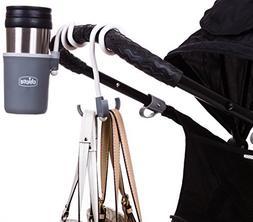 Chicco Universal Toddler Stroller Cup Holder Hook Set Joggin