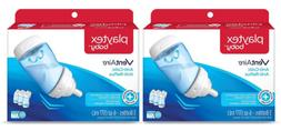 Playtex 6 Ounce Ventaire Bottles 3 Pack - Blue